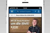 Prominente: Joey Kelly (Musiker, Sportler): Pate der real,- Treue-Aktion: real,- App